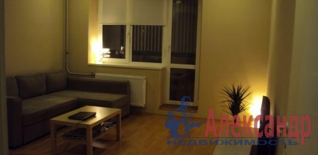 1-комнатная квартира (30м2) в аренду по адресу Моравский пер., 3— фото 1 из 2