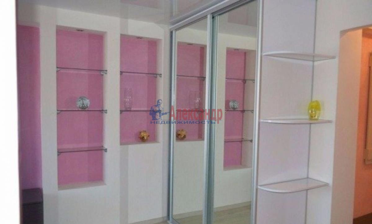 1-комнатная квартира (42м2) в аренду по адресу Ленинский пр., 88— фото 4 из 5