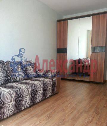 1-комнатная квартира (41м2) в аренду по адресу Рыбацкий пр., 43— фото 2 из 5
