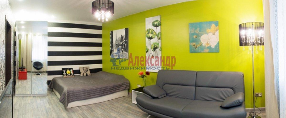 1-комнатная квартира (48м2) в аренду по адресу Сикейроса ул., 12— фото 1 из 5