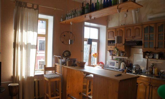 1-комнатная квартира (45м2) в аренду по адресу Лиговский пр., 107— фото 1 из 3