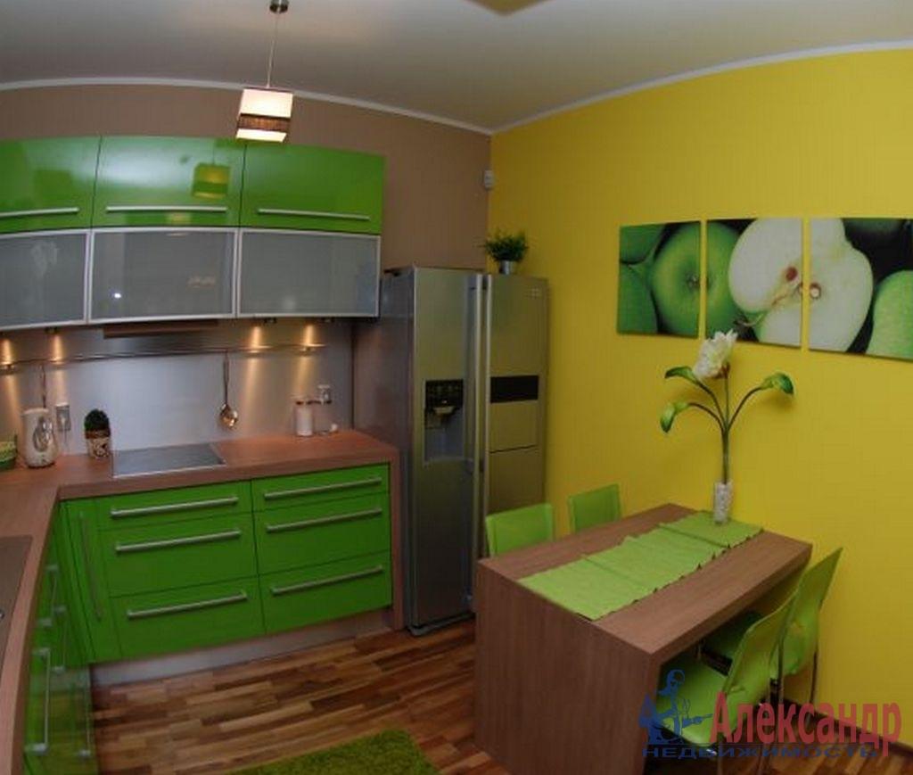 1-комнатная квартира (41м2) в аренду по адресу Дунайский пр., 23— фото 2 из 3
