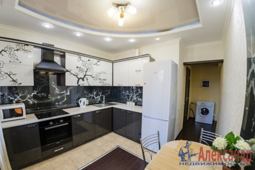 1-комнатная квартира (42м2) в аренду по адресу Варшавская ул., 6— фото 4 из 6