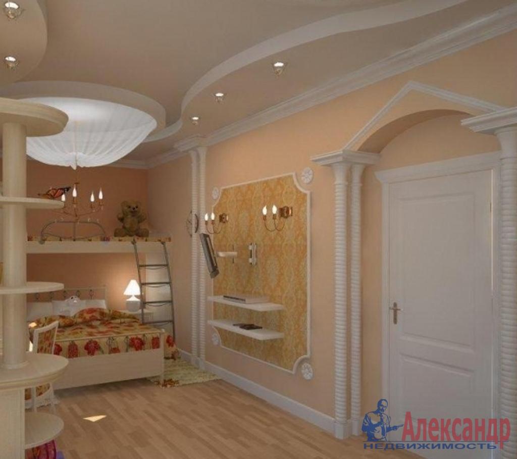 3-комнатная квартира (145м2) в аренду по адресу Морской пр., 24— фото 3 из 4