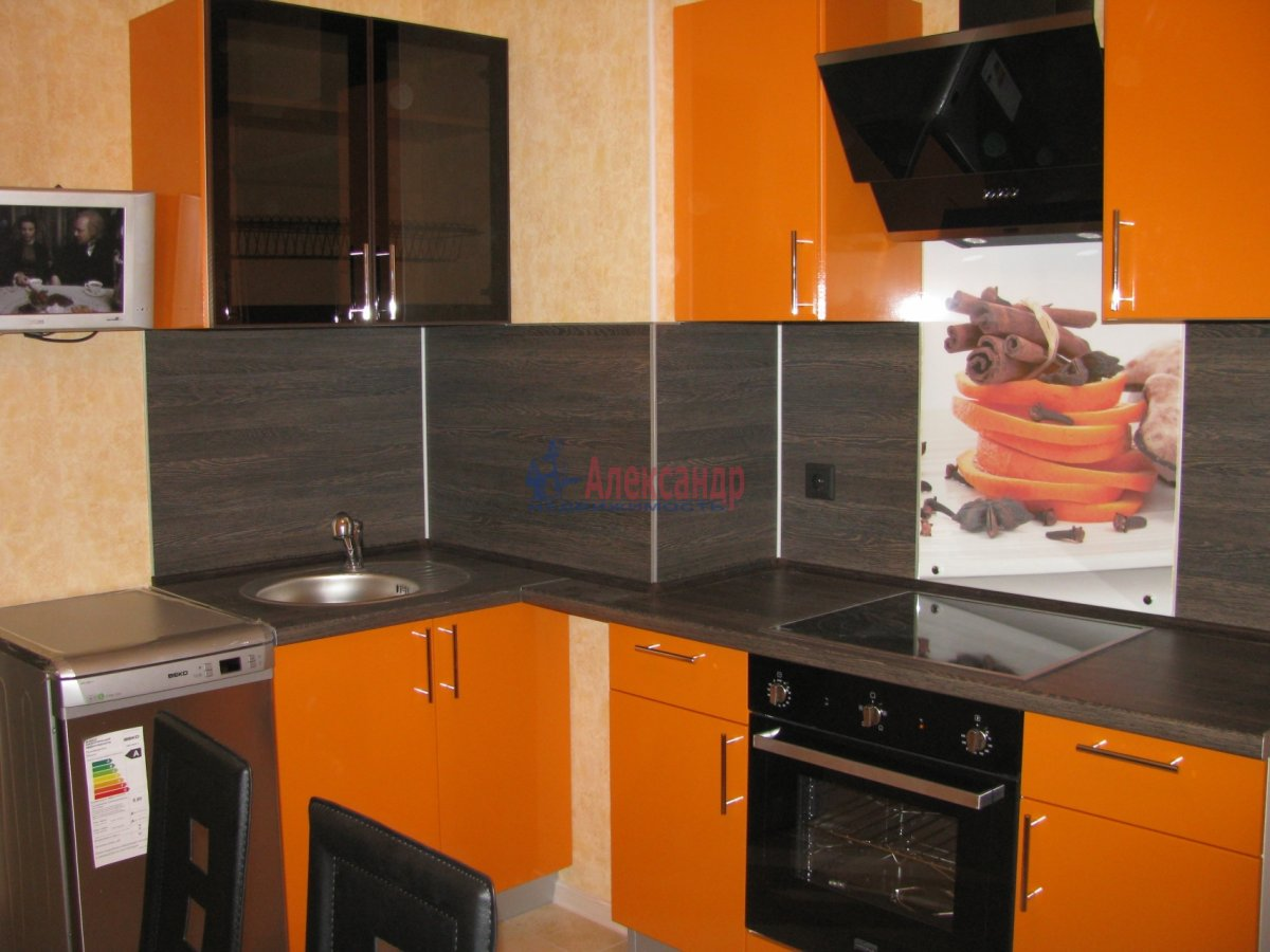 1-комнатная квартира (48м2) в аренду по адресу Дыбенко ул., 11— фото 4 из 10