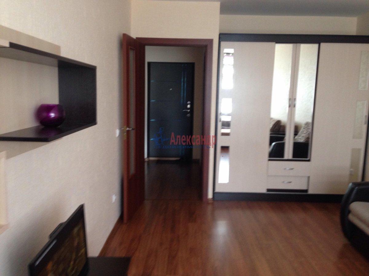 1-комнатная квартира (42м2) в аренду по адресу Оптиков ул., 35— фото 1 из 17