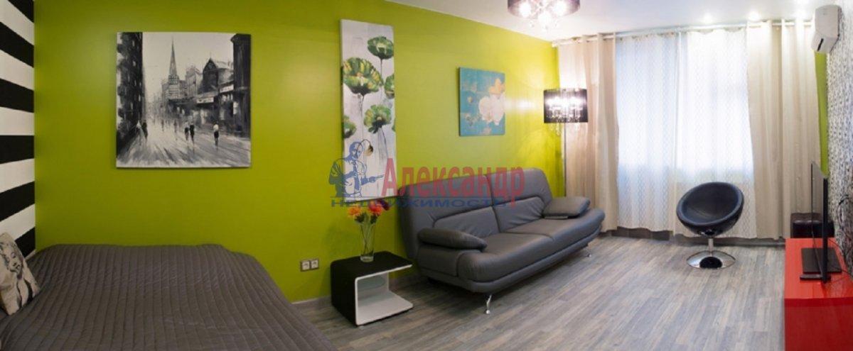 1-комнатная квартира (48м2) в аренду по адресу Сикейроса ул., 12— фото 4 из 5
