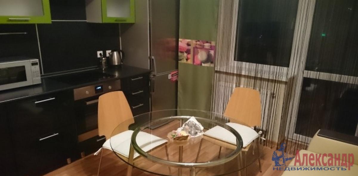 1-комнатная квартира (42м2) в аренду по адресу Науки пр., 79— фото 2 из 2