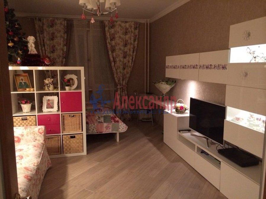 1-комнатная квартира (47м2) в аренду по адресу Композиторов ул., 18— фото 1 из 2