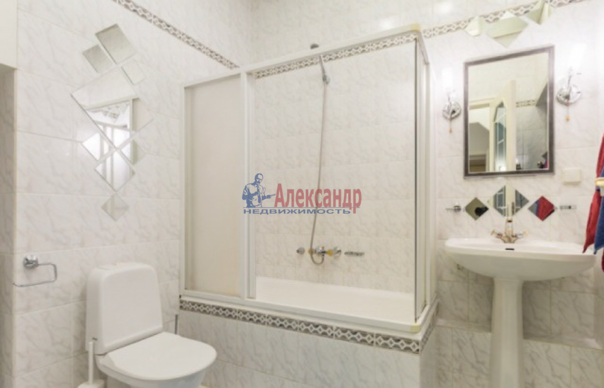 1-комнатная квартира (35м2) в аренду по адресу Дачный пр., 3— фото 3 из 4