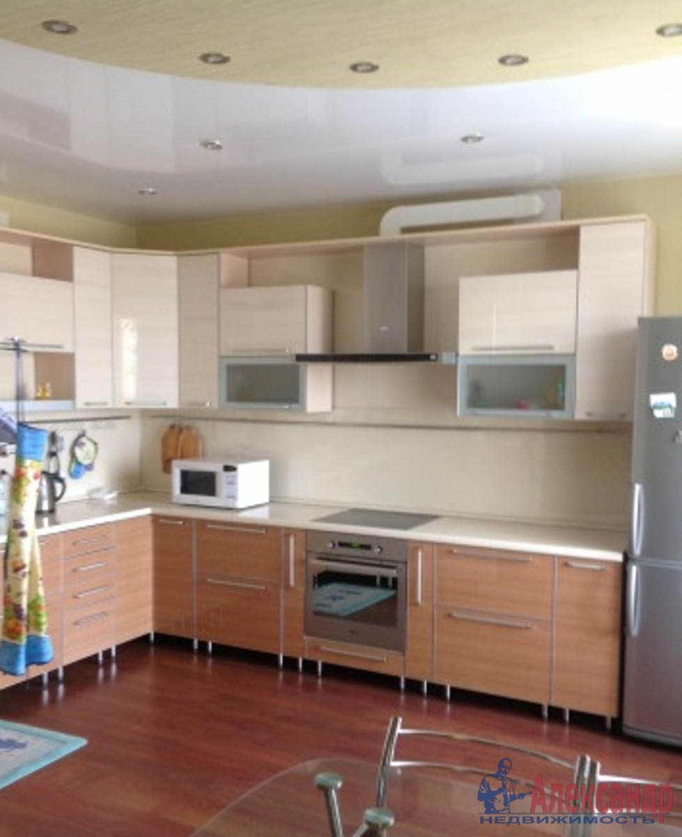 1-комнатная квартира (47м2) в аренду по адресу Земледельческая ул., 5— фото 1 из 3