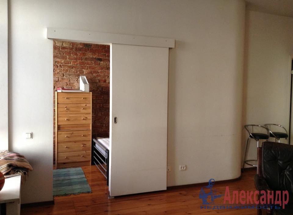 1-комнатная квартира (44м2) в аренду по адресу Гаванская ул., 26— фото 1 из 6