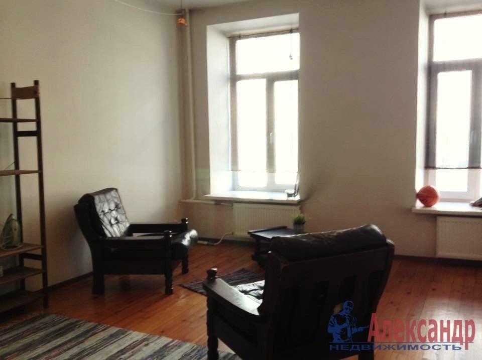 1-комнатная квартира (44м2) в аренду по адресу Гаванская ул., 26— фото 4 из 6