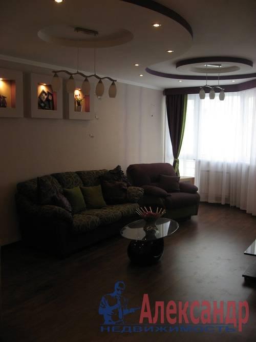 2-комнатная квартира (80м2) в аренду по адресу Дачный пр., 24— фото 9 из 17