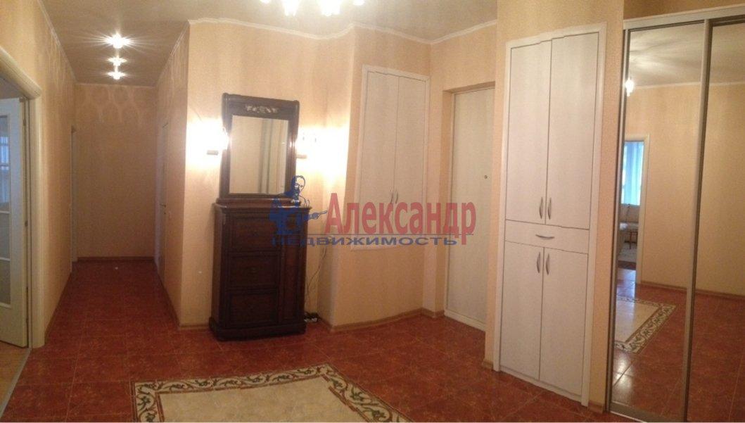 3-комнатная квартира (110м2) в аренду по адресу Каменноостровский пр., 62— фото 10 из 15