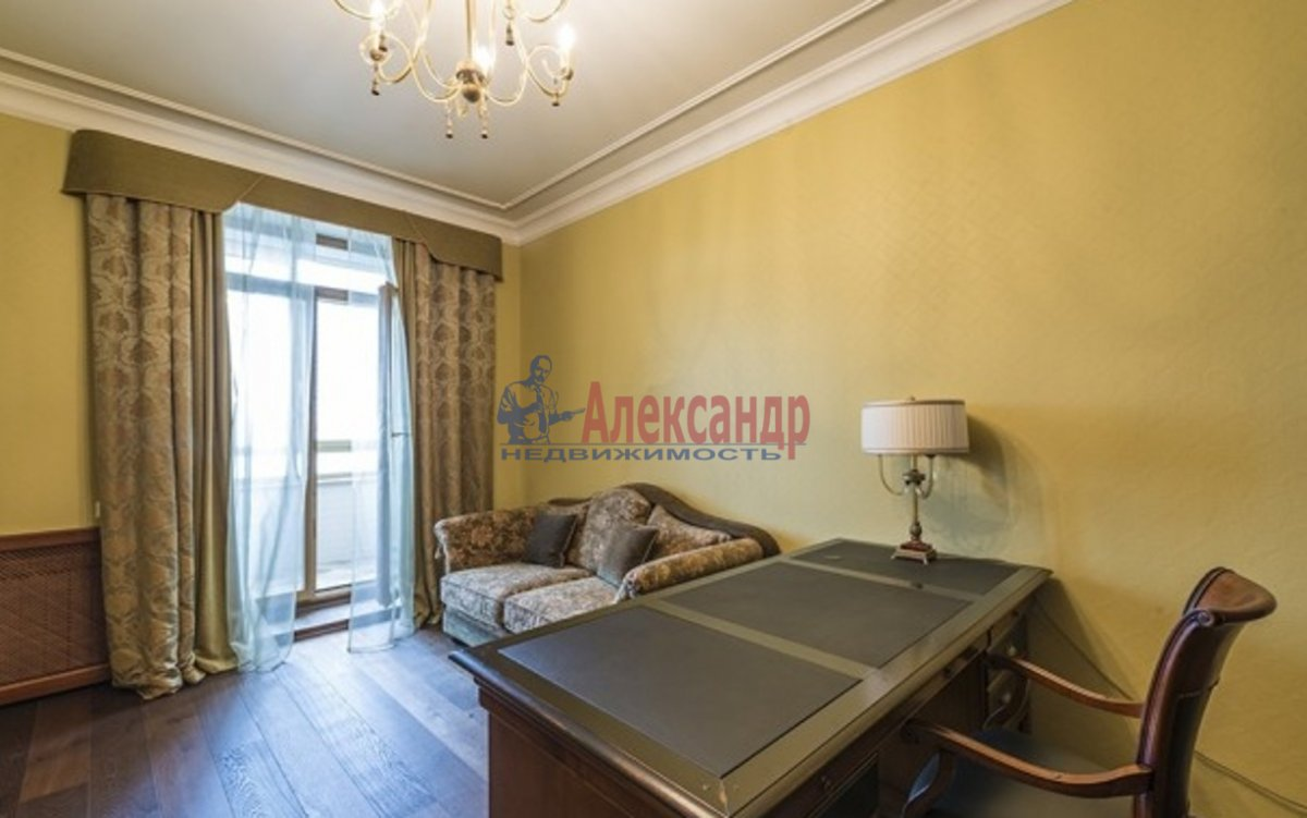 3-комнатная квартира (118м2) в аренду по адресу Республиканская ул., 6— фото 2 из 4