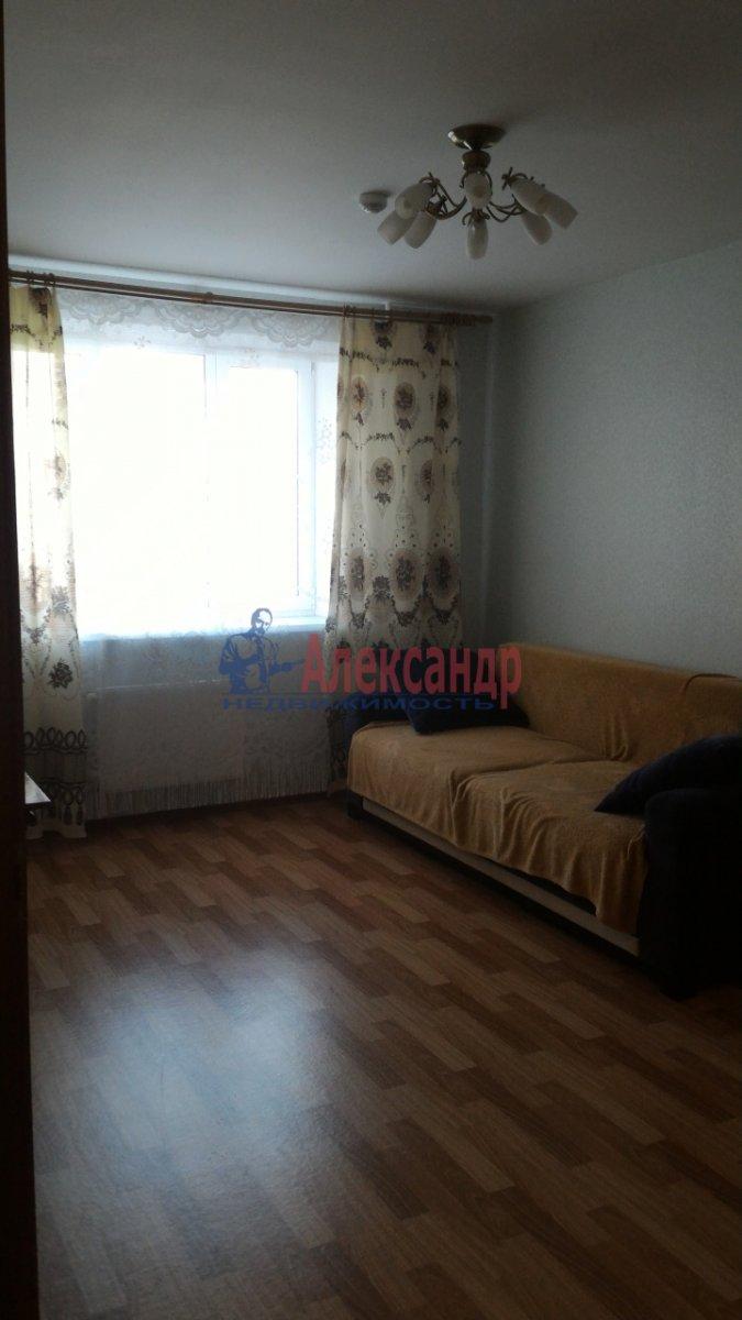 1-комнатная квартира (38м2) в аренду по адресу Парголово пос., Заречная ул., 25— фото 4 из 10