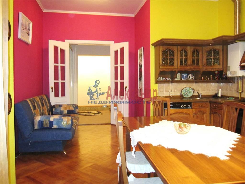 3-комнатная квартира (125м2) в аренду по адресу Мытнинская наб., 1— фото 2 из 16