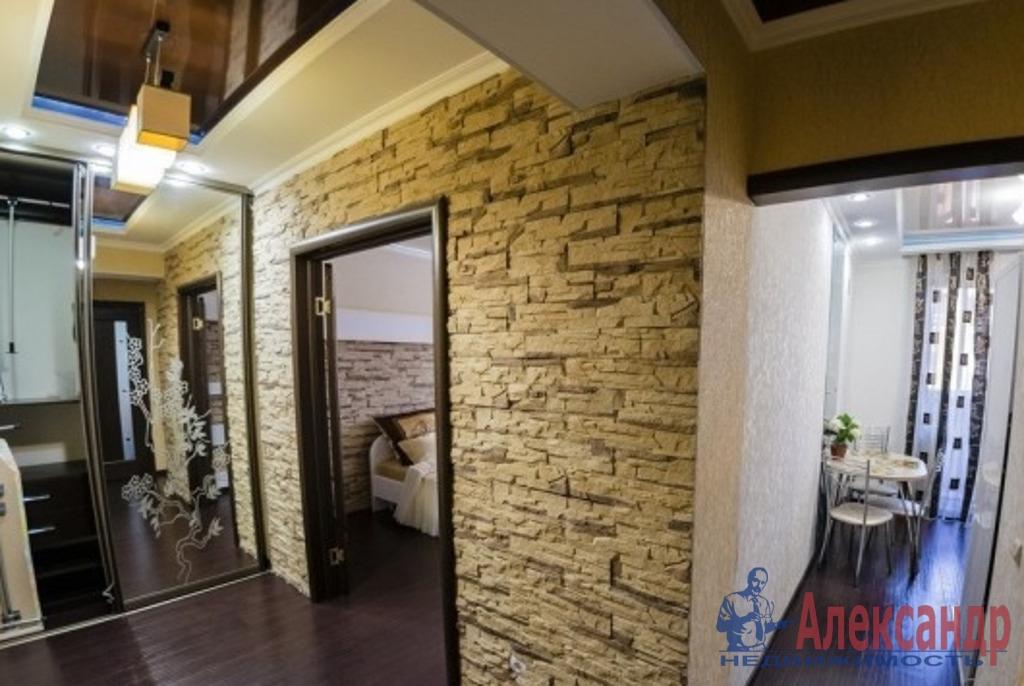 1-комнатная квартира (42м2) в аренду по адресу Варшавская ул., 6— фото 5 из 6