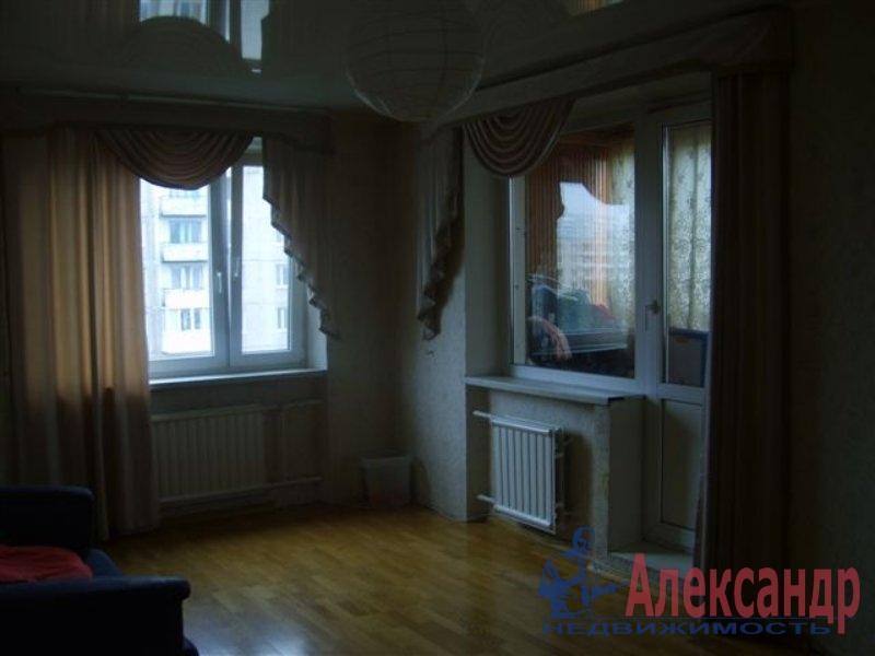 1-комнатная квартира (35м2) в аренду по адресу Ткачей ул., 5— фото 2 из 4