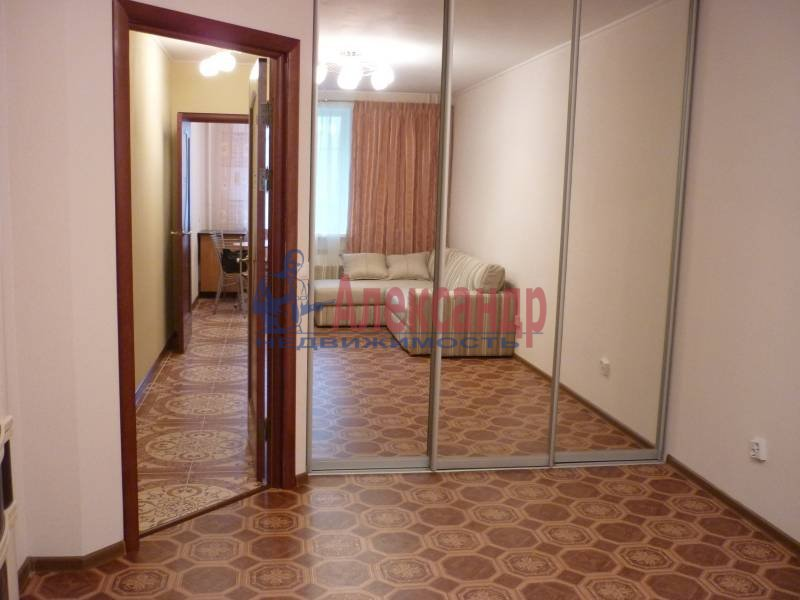 1-комнатная квартира (41м2) в аренду по адресу Косыгина пр., 32— фото 6 из 7