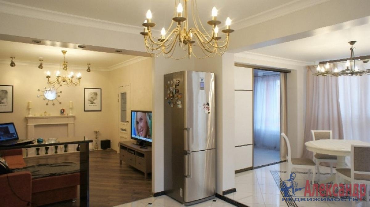 2-комнатная квартира (95м2) в аренду по адресу Профессора Попова ул., 27— фото 1 из 4