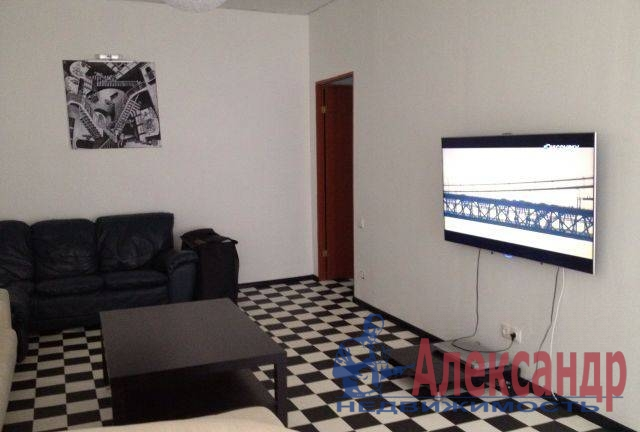 2-комнатная квартира (60м2) в аренду по адресу Рижский пр., 48— фото 2 из 4