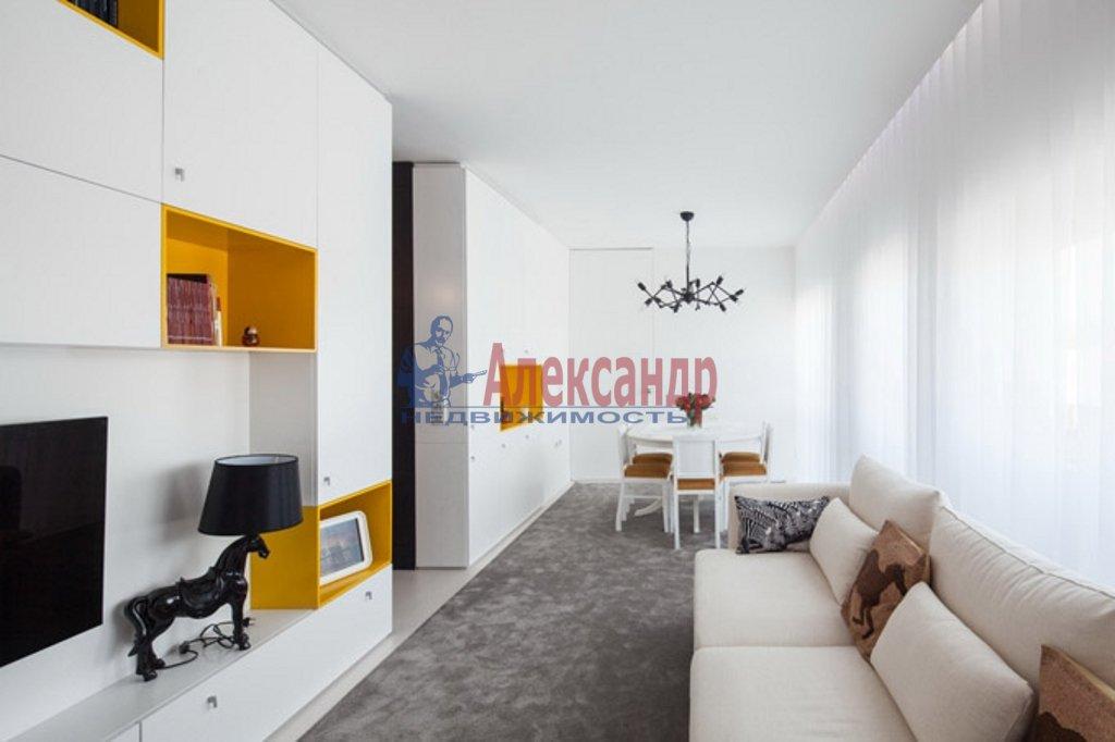 2-комнатная квартира (85м2) в аренду по адресу Рубинштейна ул., 17— фото 3 из 6