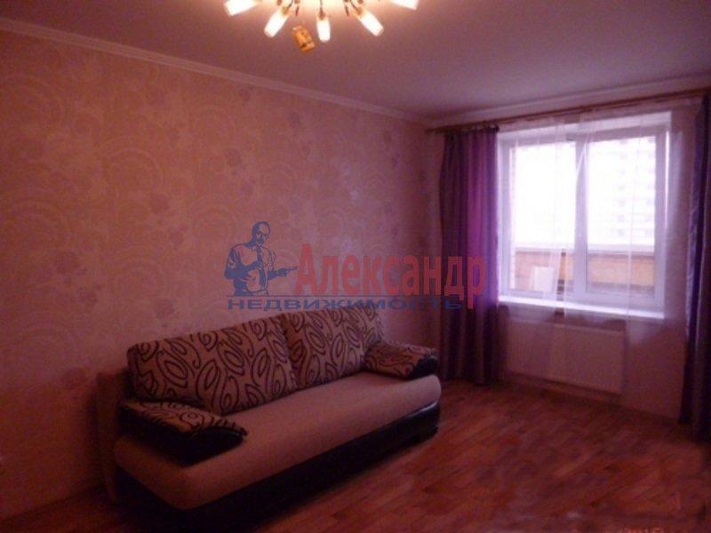 1-комнатная квартира (38м2) в аренду по адресу Мурино пос., Новая ул., 7— фото 3 из 3