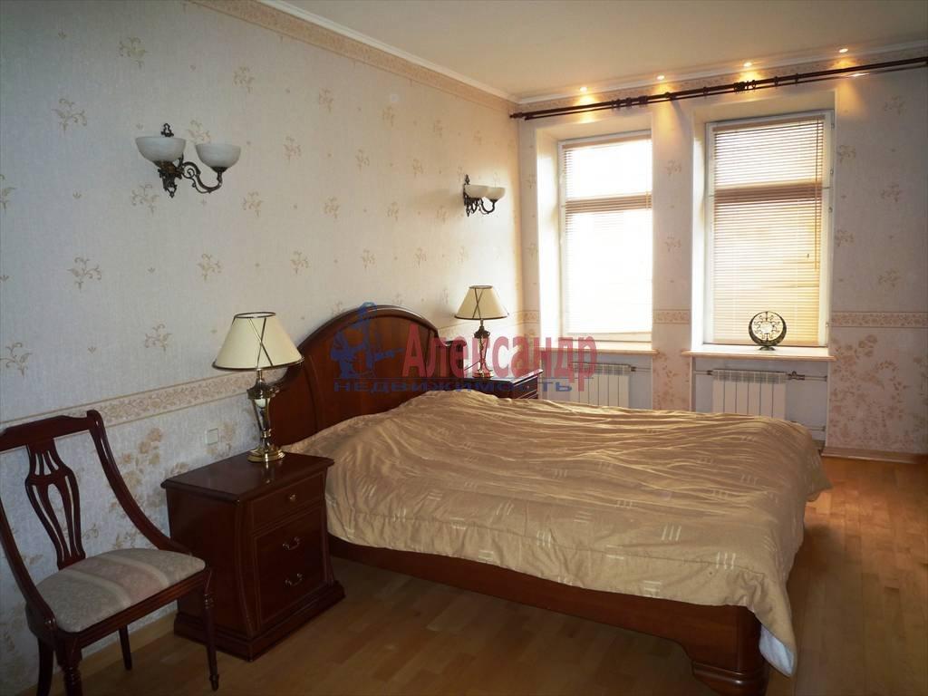 2-комнатная квартира (104м2) в аренду по адресу Всеволода Вишневского ул., 13— фото 3 из 4