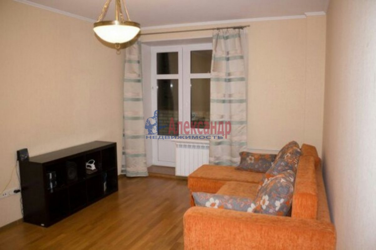 1-комнатная квартира (32м2) в аренду по адресу Римского-Корсакова пр., 103— фото 4 из 6