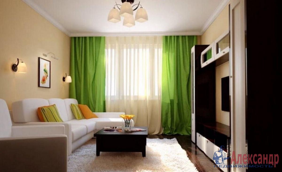 1-комнатная квартира (37м2) в аренду по адресу Пулковское шос., 14— фото 1 из 3