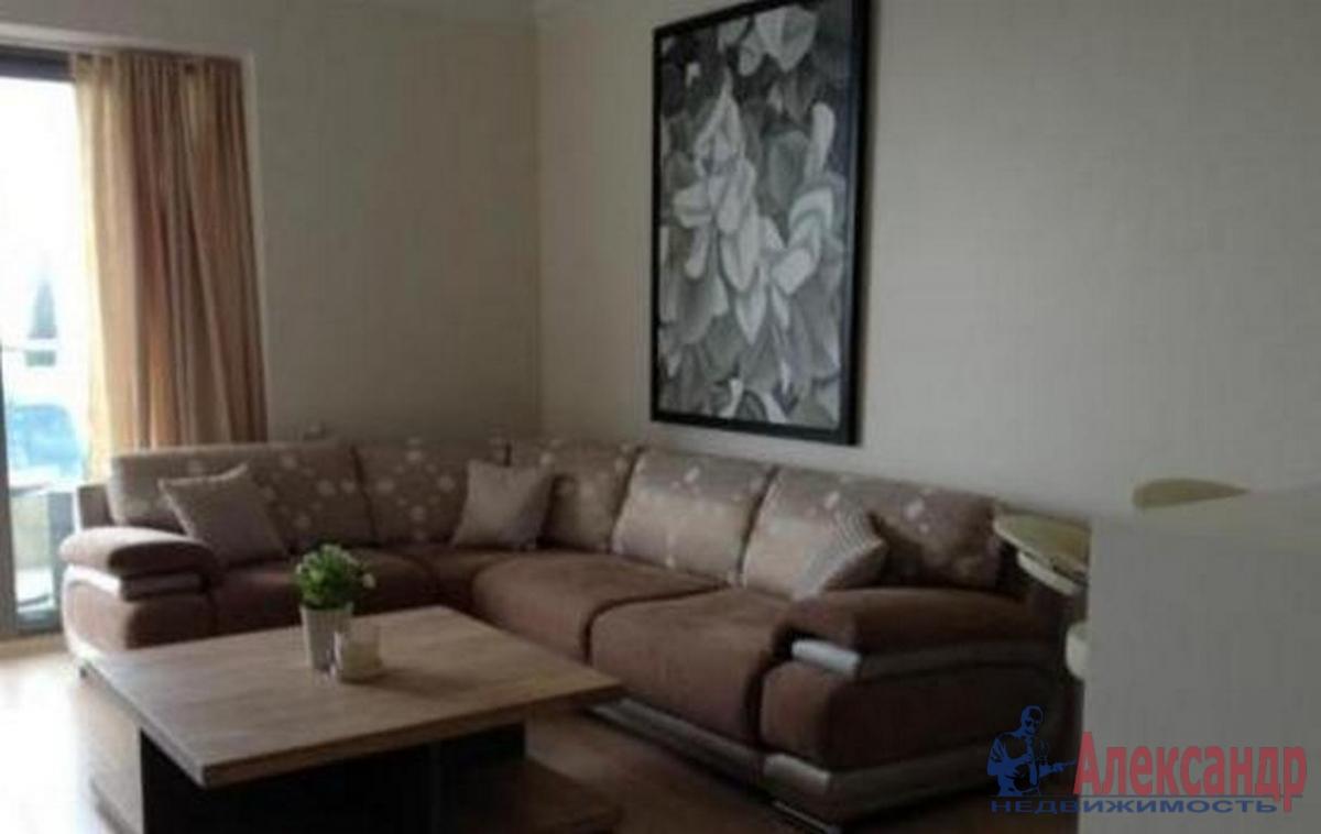 1-комнатная квартира (41м2) в аренду по адресу Варшавская ул., 23— фото 1 из 2