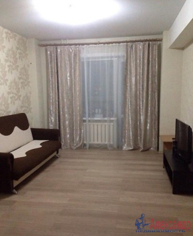 1-комнатная квартира (40м2) в аренду по адресу Беринга ул., 1— фото 1 из 3