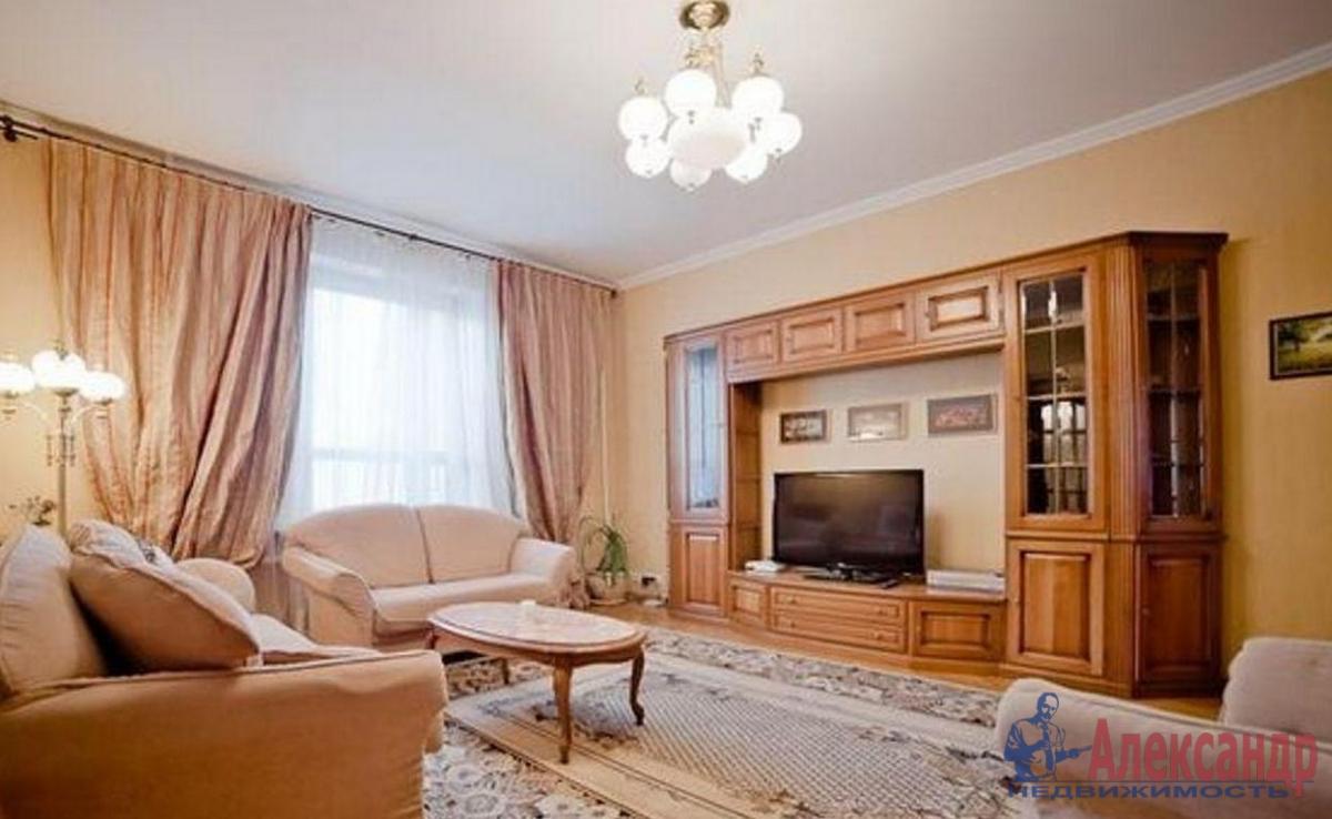3-комнатная квартира (74м2) в аренду по адресу Ленинский пр., 161— фото 1 из 3