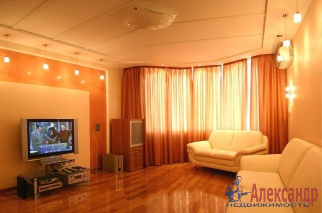 1-комнатная квартира (46м2) в аренду по адресу Будапештская ул., 7— фото 1 из 2