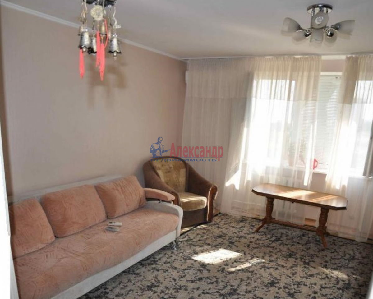 1-комнатная квартира (32м2) в аренду по адресу Науки пр., 18— фото 1 из 4
