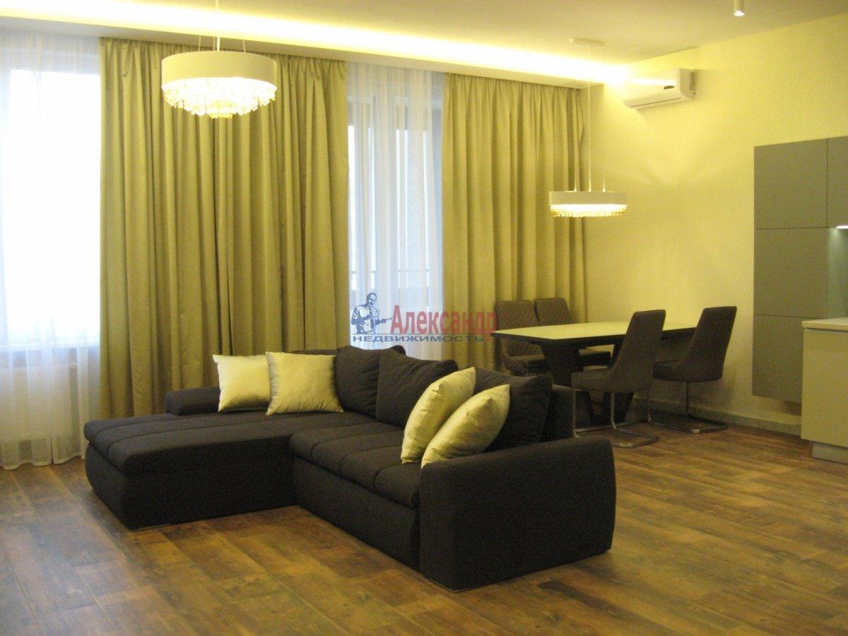 3-комнатная квартира (111м2) в аренду по адресу Беринга ул., 5— фото 1 из 32