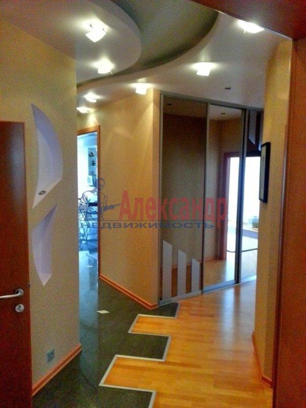 3-комнатная квартира (130м2) в аренду по адресу Барочная ул., 12— фото 12 из 15