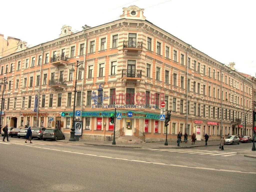 2-комнатная квартира (80м2) в аренду по адресу Невский пр., 158— фото 4 из 11