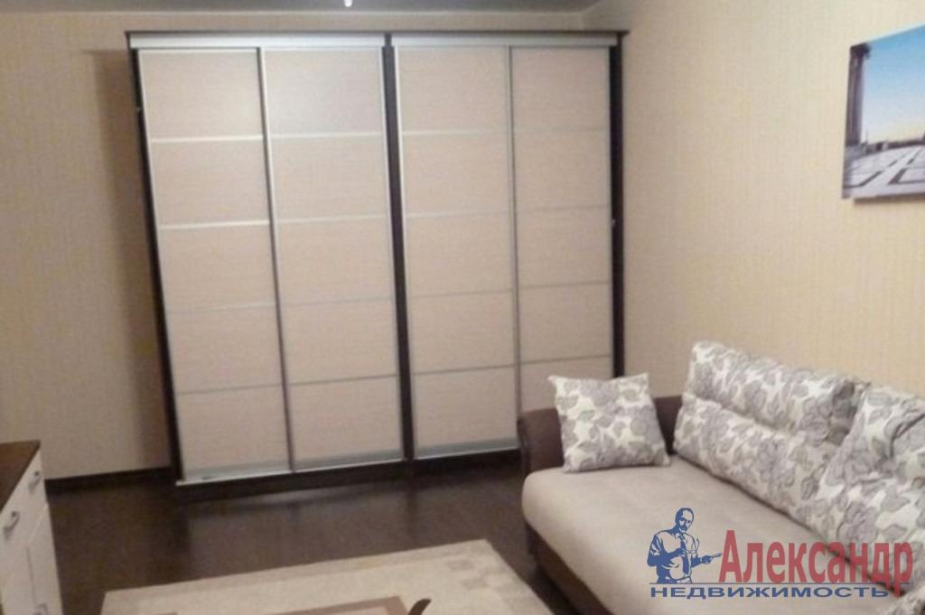 1-комнатная квартира (43м2) в аренду по адресу Подвойского ул., 13— фото 1 из 2
