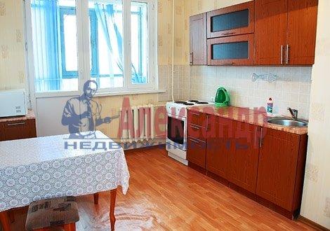 1-комнатная квартира (40м2) в аренду по адресу Ветеранов пр., 16— фото 1 из 4