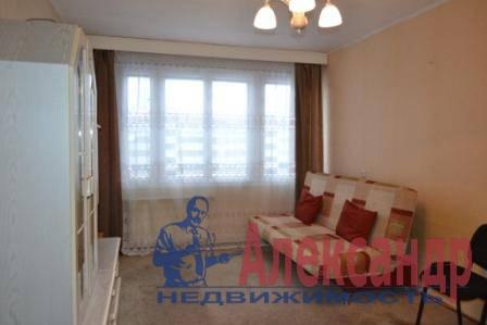 1-комнатная квартира (40м2) в аренду по адресу Варшавская ул., 23— фото 2 из 5