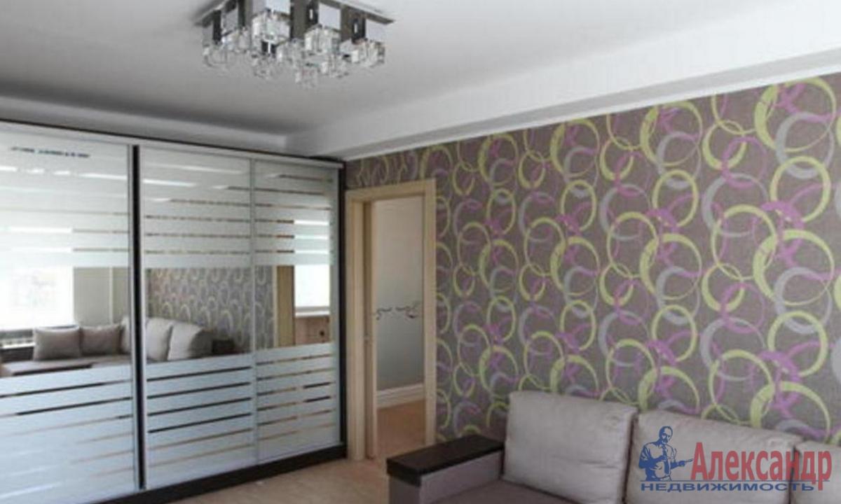 1-комнатная квартира (40м2) в аренду по адресу Туристская ул., 23— фото 1 из 3