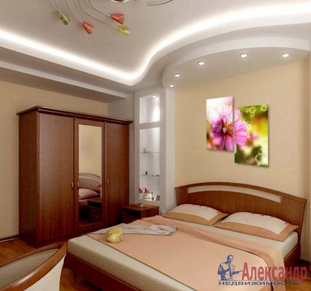 3-комнатная квартира (100м2) в аренду по адресу Апраксин пер., 11— фото 2 из 4