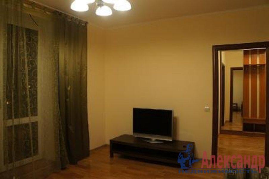 1-комнатная квартира (40м2) в аренду по адресу Доблести ул., 26— фото 1 из 5