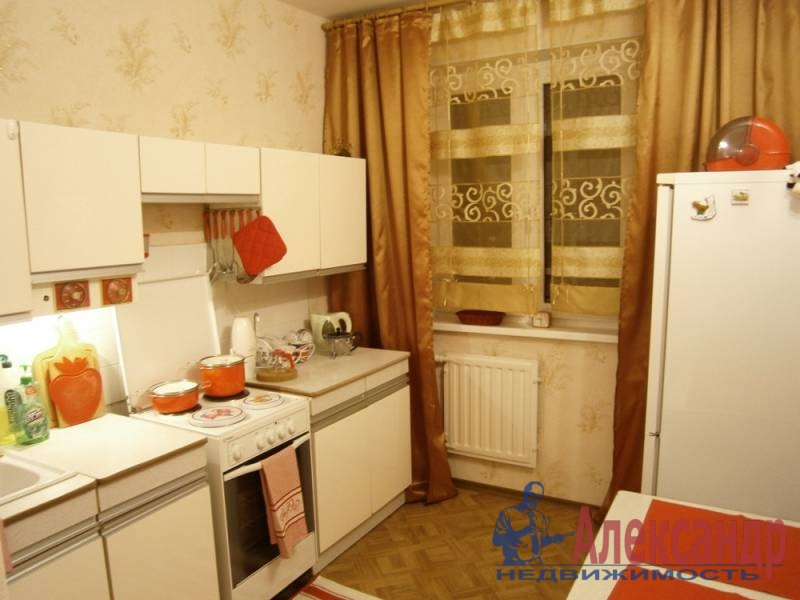 2-комнатная квартира (50м2) в аренду по адресу Просвещения пр., 9— фото 3 из 4