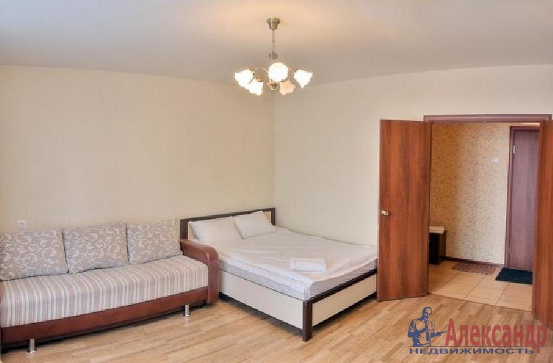 1-комнатная квартира (40м2) в аренду по адресу Парголово пос., Валерия Гаврилина ул., 5— фото 1 из 3
