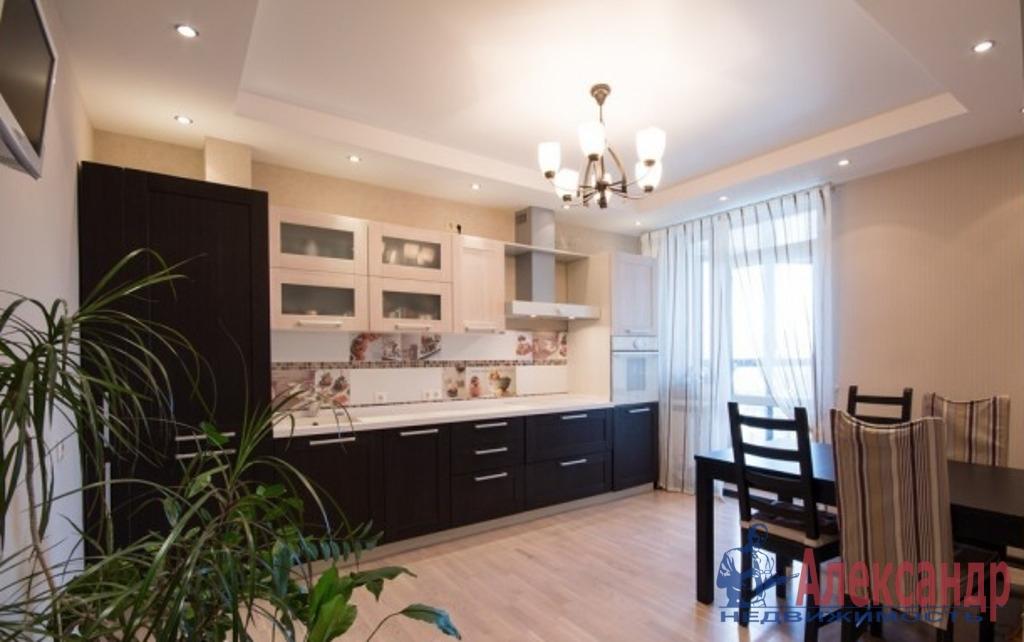 3-комнатная квартира (100м2) в аренду по адресу Средний В.О. пр., 85— фото 5 из 7