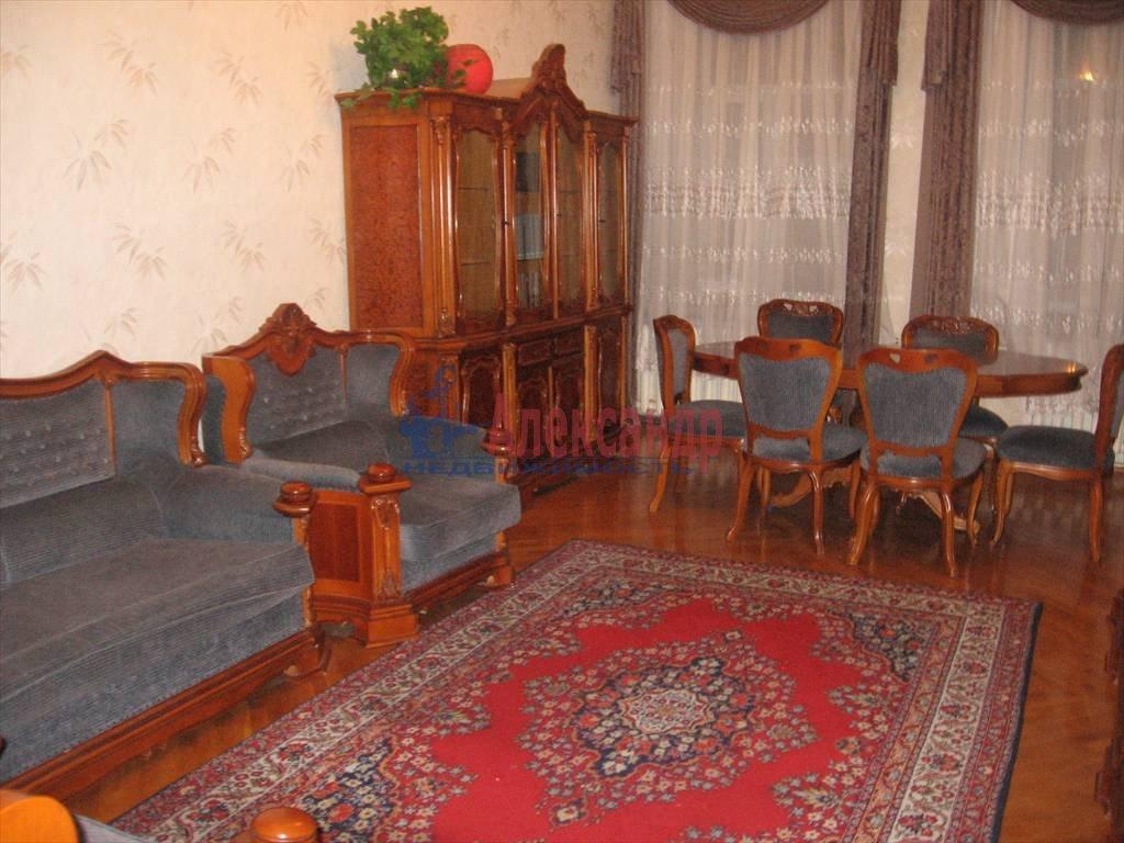 3-комнатная квартира (124м2) в аренду по адресу Мытнинская наб., 11— фото 5 из 5